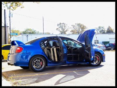 TCE Wilwood SRT4 BBK - Front and Rear - Track kit.